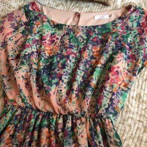 LUSH Floral Dress M